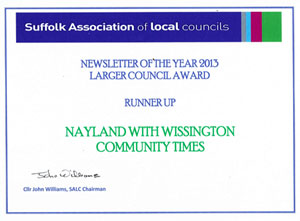 SALC Newsletter of the Year