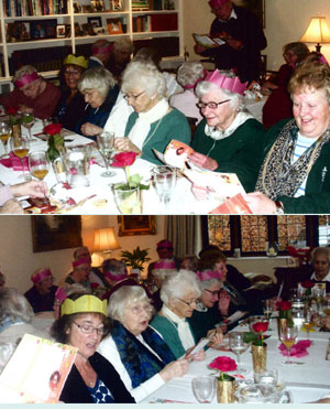 Christmas Partyfor Over 60s